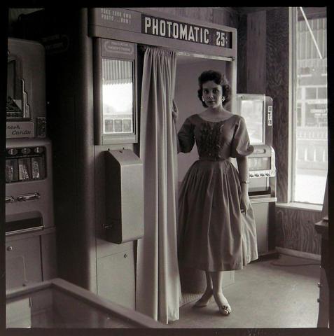 Американская фотокабина 1958 года